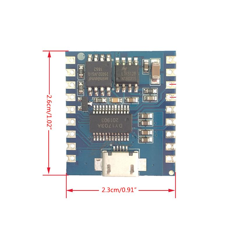 DY SV17F аудио модуль мини mp3 плеер IO Trigger USB скачать флэш голосовой модуль|Запчасти