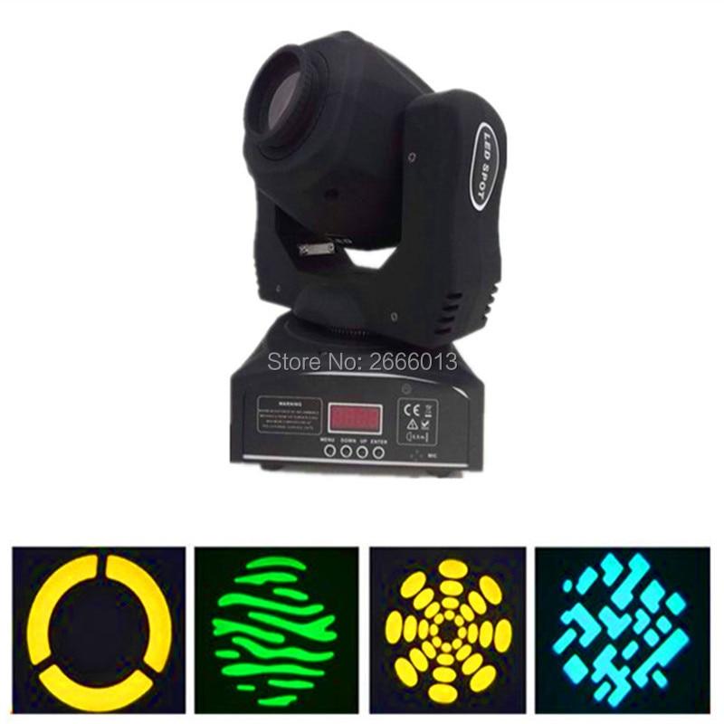 2pcs/lot LED 60W Gobos Moving Head Stage Effect Light/DMX Channels LED Spots Lighting/KTV DJ Party Lights/60W LED Patterns Light