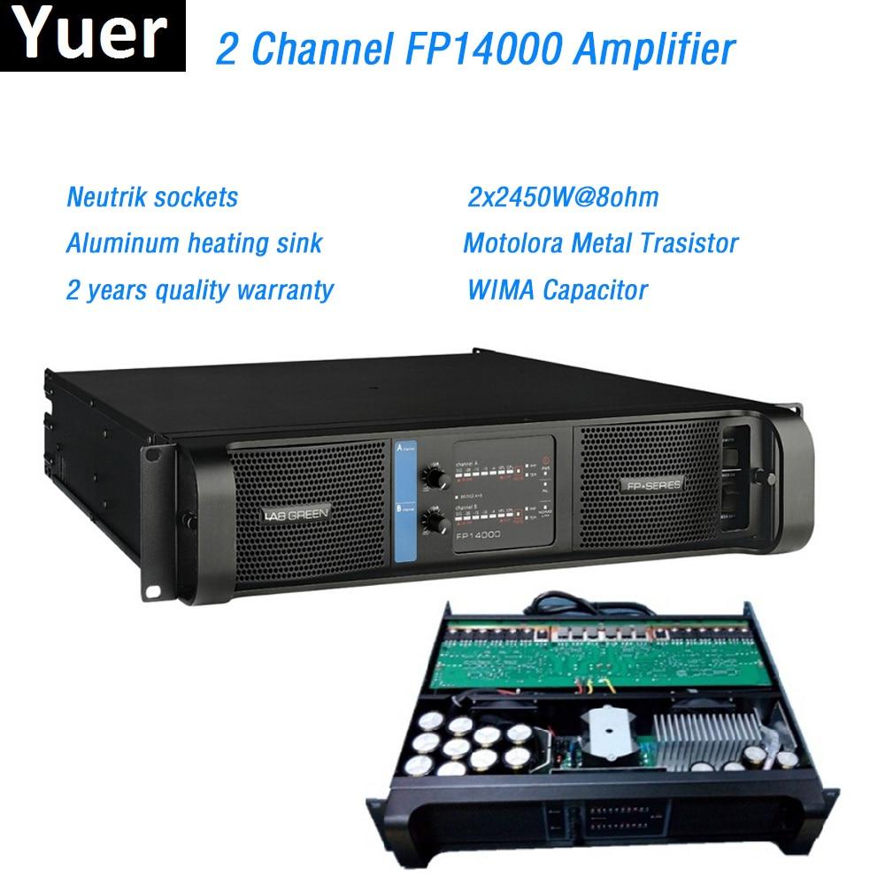2 قناة FP14000 مكبر للصوت خط صفيف مكبر للصوت المهنية 2x2350W @ 8ohm fp14000 خط صفيف الصوت السلطة مكبر للصوت خط