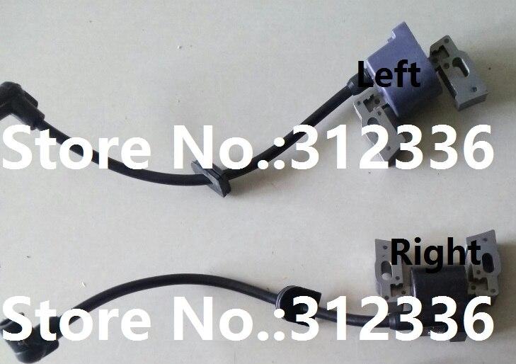 Envío Gratis KGE12E KG670-14100 1 unidad izquierda y 1 bobina de encendido derecho KG670 magneto magnetor traje para kipor kama