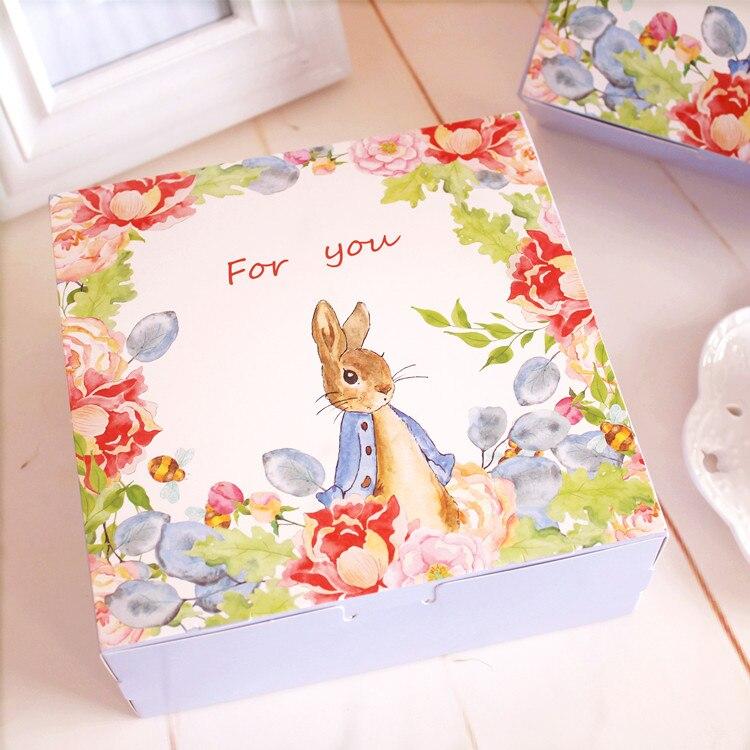 Jolie boîte à gâteaux en mousse de 6 pouces   Décoration de jardin, carton demballage pour gâteaux en fromage, boîtes de boulangerie et biscuits, approvisionnement favorable