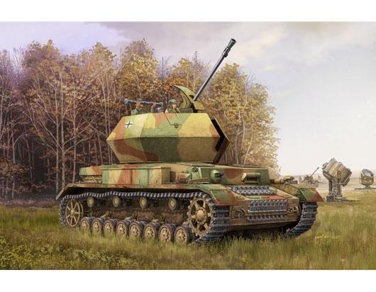 Trumpeter 01520 1/35 alemán 3,7 cm Flak 43 Flakpanzer IV Ostwind