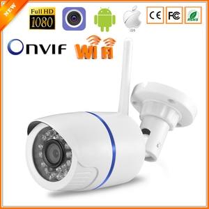 Wifi IP Bullet Camera 1080P 720P HD Security Outdoor Waterproof Camera Night Vision TF Card Slot  CCTV Camera P2P Onvif Camhi