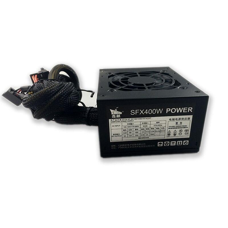 400 w מיני מארז מחשב אספקת חשמל 110 v ATX אספקת חשמל מחשב מחשב כוח אספקת משחקי PSU 12 v פעיל PFC 24PIN מקסימום 500 w DIY מחשב