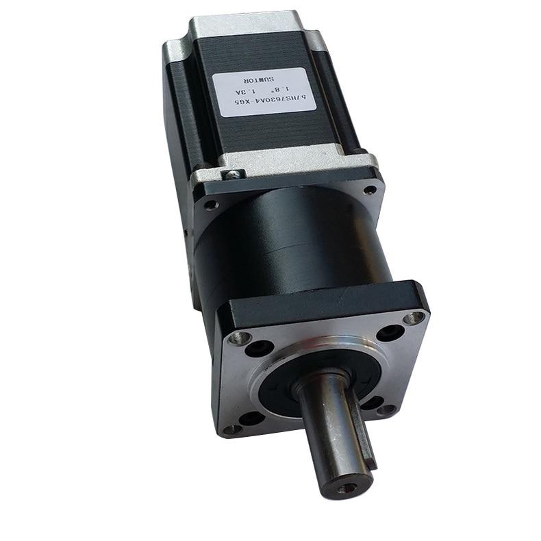 Nema23 economical type Planetary Gear Stepper Motor 3N.m ratio 15 20 25 30 40 50 100: 1 motor Length 112 mm