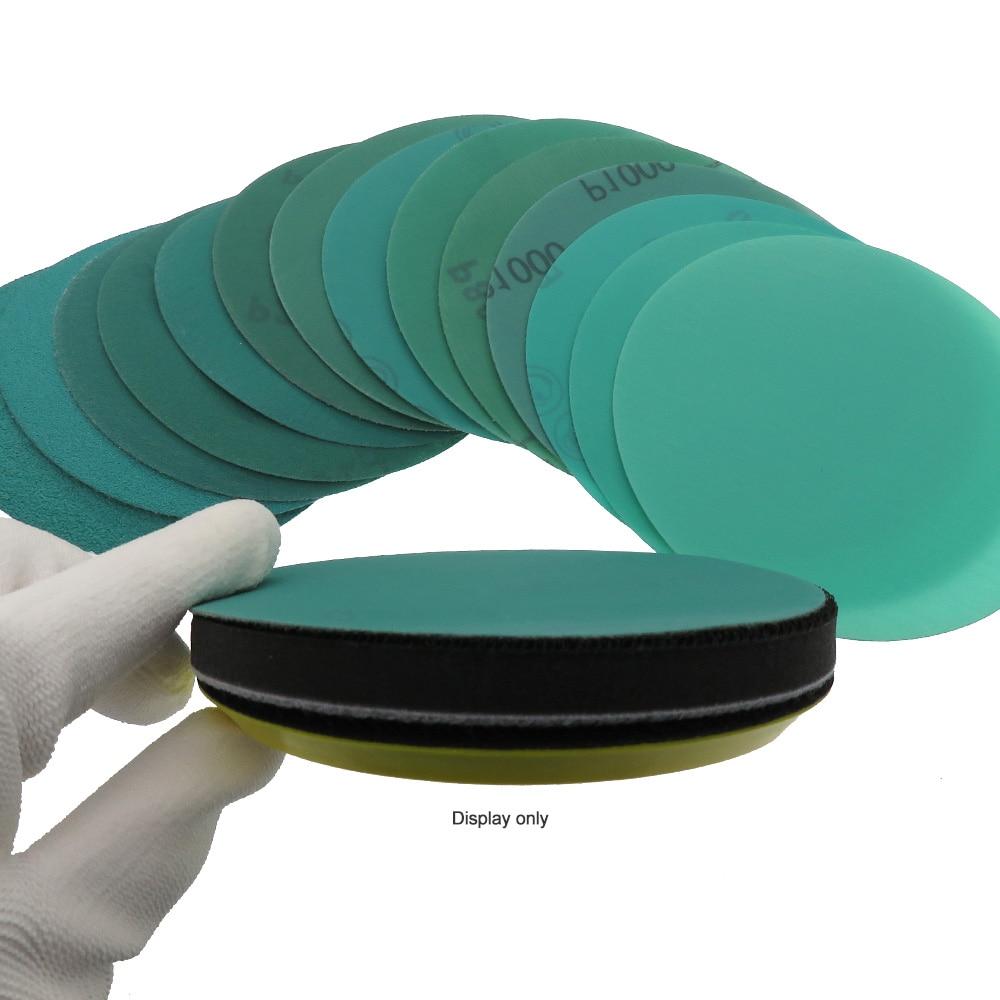 10 pezzi 5 pollici 125 mm da 60 a 2000 grana pellicola a strappo - Utensili abrasivi - Fotografia 6