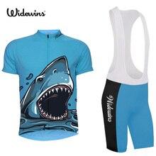 Maillot de cyclisme à séchage rapide requins été vtt vélo hommes vêtements courts Ropa Bicicleta Maillot Ciclismo vélo vêtements 5169