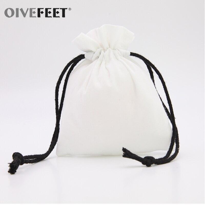 OIVEFEET, LG0032, 100 шт простой изготовленный на заказ натуральный хлопок сумка на шнурке для свадьбы упаковка на шнурке Подарочная сумка для мыла