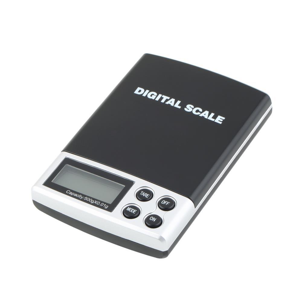 2018 nuevo 500g x 0,01g balanza digital de bolsillo joyería balanza de peso precisión Dropshipping al por mayor