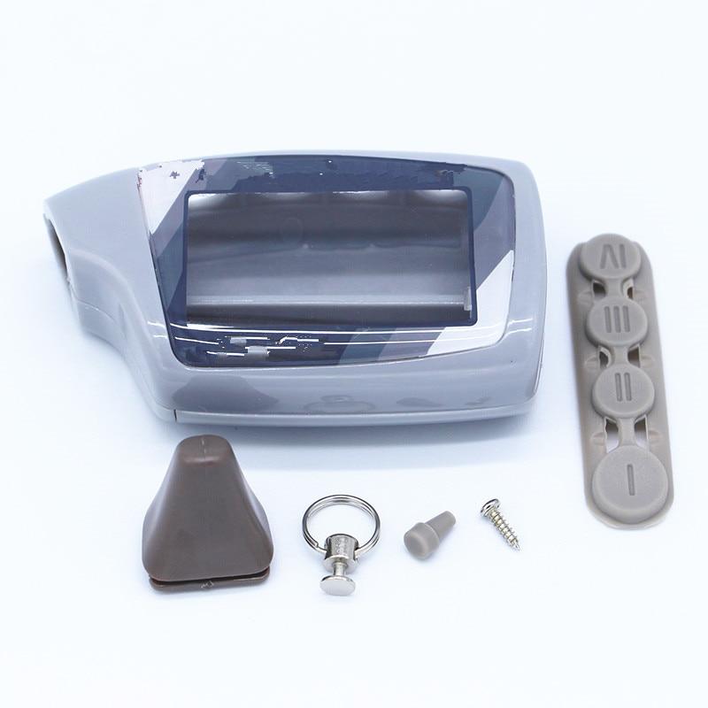 M5 케이스 러시아어 Scher-Khan Magicar 5 2 방식 자동차 알람 LCD 원격 제어/Scher 칸 M5 M902F/M903F 키 Fob