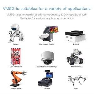 Image 5 - VONETS VM5G высокая мощность, 1200 м, беспроводная связь, 5,8G, двухдиапазонный Wi Fi модуль, Лифт, мониторинг HD видео, выделенная точка точка, трансвеститка