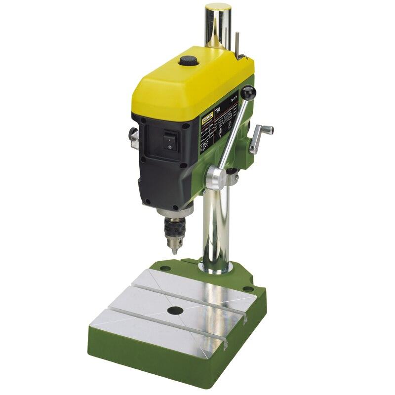 PROXXON multi-function drilling machine, home precision drilling machine bench drill, 300W, 50~60Hz. Workbench size: 200*200mm