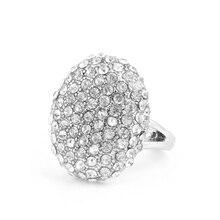 Nouvelle mode anneaux de mariage bague de fiançailles bijoux en cristal le crépuscule briser laube Bella anneaux de mariage pour les femmes