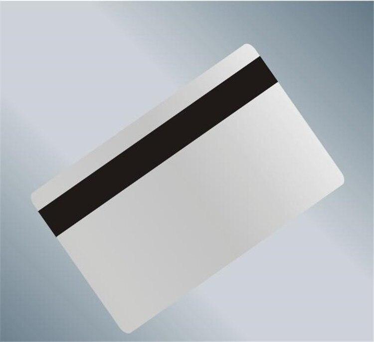 Lege Pvc Magneetstripkaart Hi-Co 3 Track Kan Gedrukt Magnetische Kaart Ondersteuning Msr Hoge Weerstand