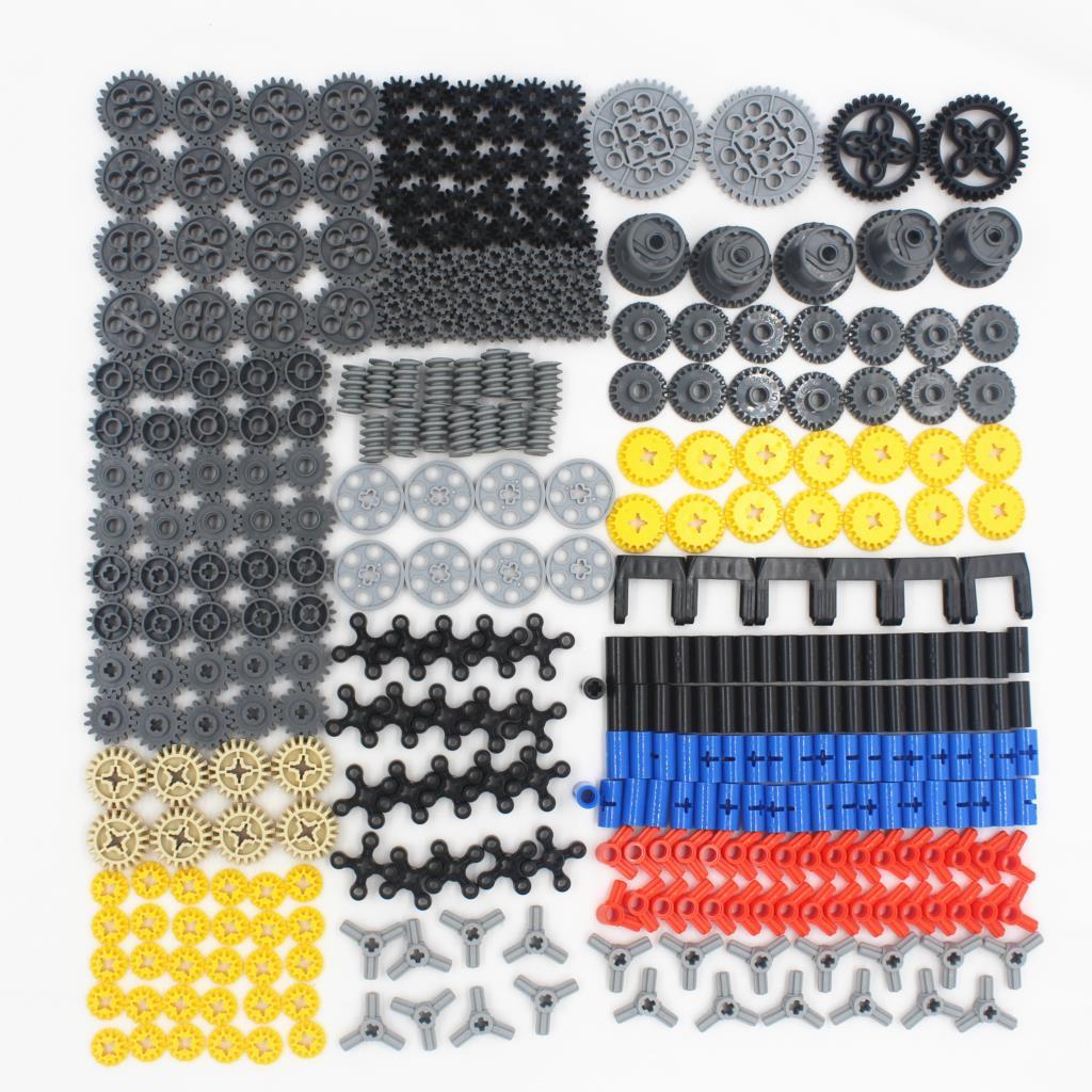2018 nuevo 450 Uds Serie Técnica piezas coche conjunto de bloques de construcción modelo compatible con lego para niños juguete construcción ladrillos engranajes