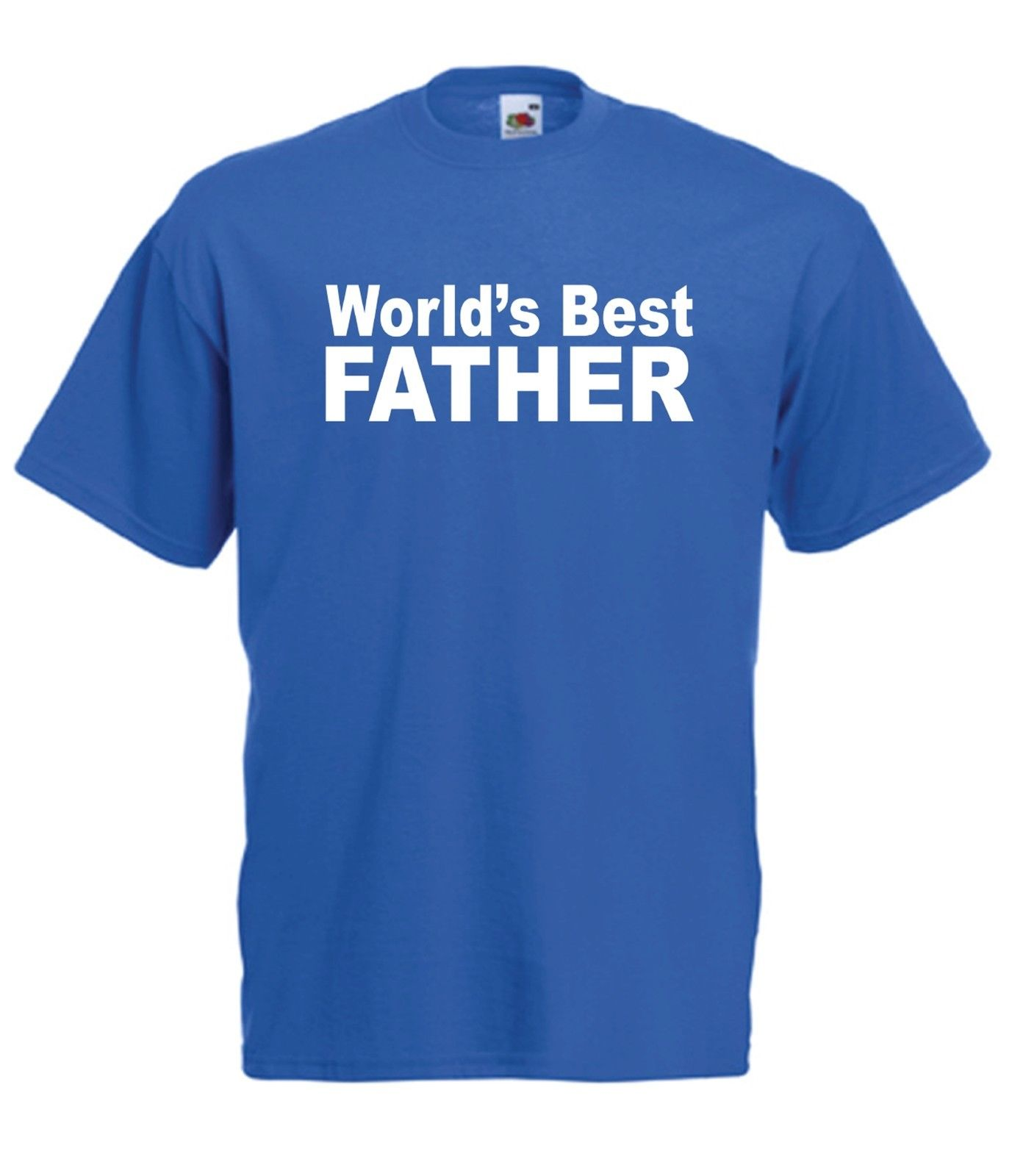 WORLDS BEST FATHER Grandad Dads Christmas Birthday Gift Idea Mens Womens T SHIRT  2018 New Short Sleeve Casual T-Shirt Tee