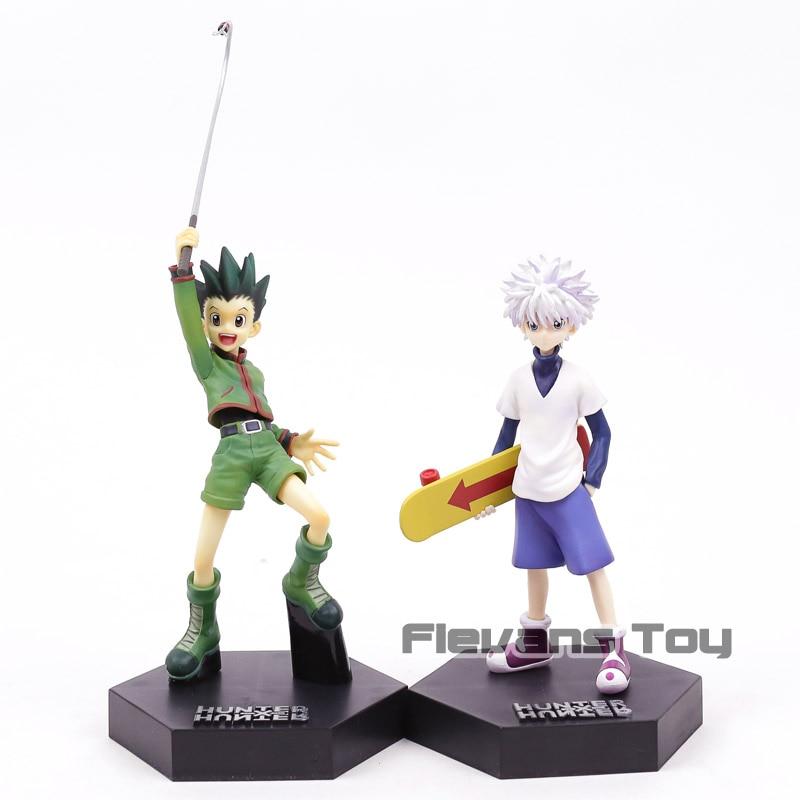 Hunter X Hunter Gon Freecss/Killua Zoldyck 1/8 Scale PVC Figure Toy Collectible Modelo 3 Tipos