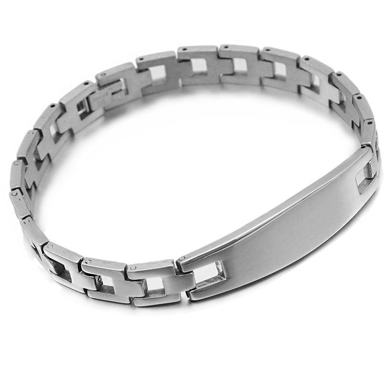 CHIMDOU 2018 модные украшения, женские/мужские браслеты из нержавеющей стали, часы с ремешком, ID украшения, оптовые аксессуары