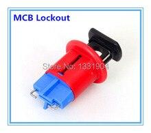 Ücretsiz kargo 10 adet/grup Minyatür devre kesici Kilitleme BD-D02 devre kesici kilitleme cihazları MCB kilitleme