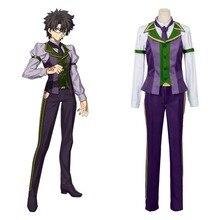 Disfraz de Cosplay de Anime Fate Grand Order, Ritsuka Fujimaru uniforme escolar, Carnaval de Halloween, disfraz de adulto, cualquier tamaño