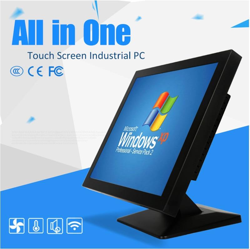 15 inch industrial Panel aio pc computer with Intel J1800 professor wireless Lan