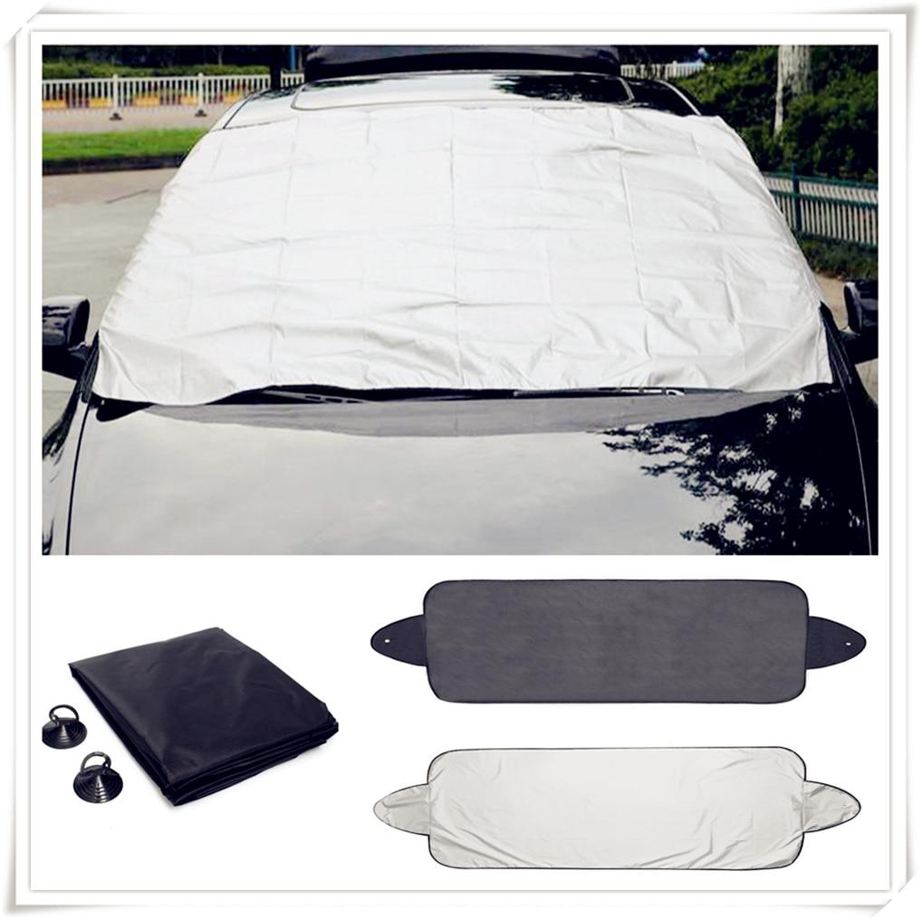 car Prevent Snow Ice Sun Shade Dust Frost window Windshield Cover Protector for Fiat Fiorino 595 500 500S Toro Fullback Aegea