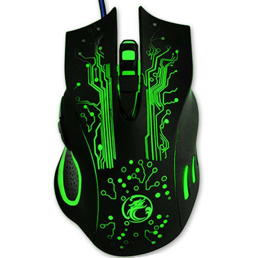 X9 Gaming Mouse 5000DPI LED Optical USB Wired Gamer Mouse Computer Mice PC Laptop Professional Ergonomic Game Mause