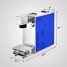 20 W Fiber Laser Machine de marquage graveur gravure fabricant 110X110mm haute vitesse