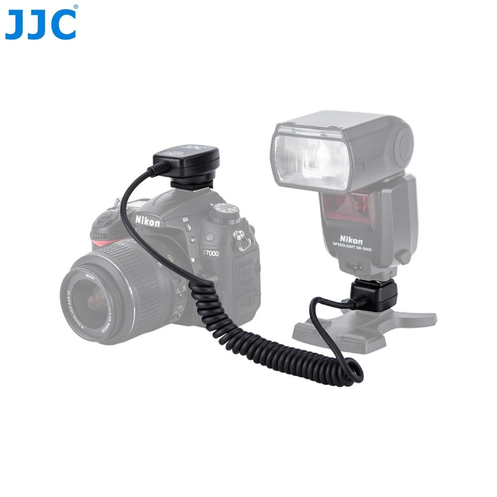 JJC-Cable de enfoque de luz remoto para cámara Nikon, Cable de Flash...