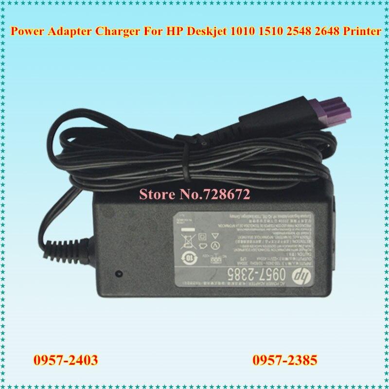 22 V 455mA 0.455A Adaptateur secteur Chargeur 0957-2403 0957-2385 Pour HP Deskjet 1010 1510 2548 2648 Imprimante