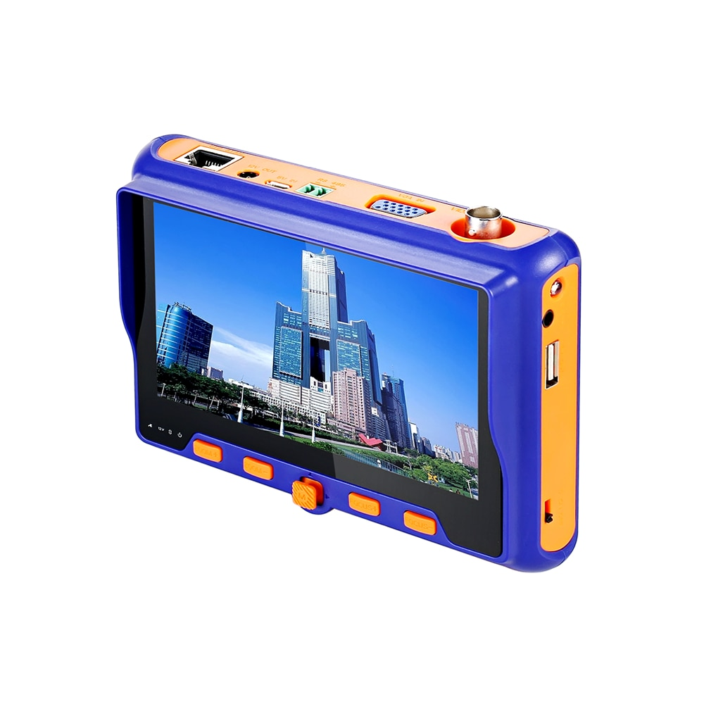 5MP 2MP CCTV Tester 5INCH TFT LCD TVI AHD CVI CVBS Analog 4IN1 Security Camera Tester Monitor VGA Output UTP Cable Test enlarge