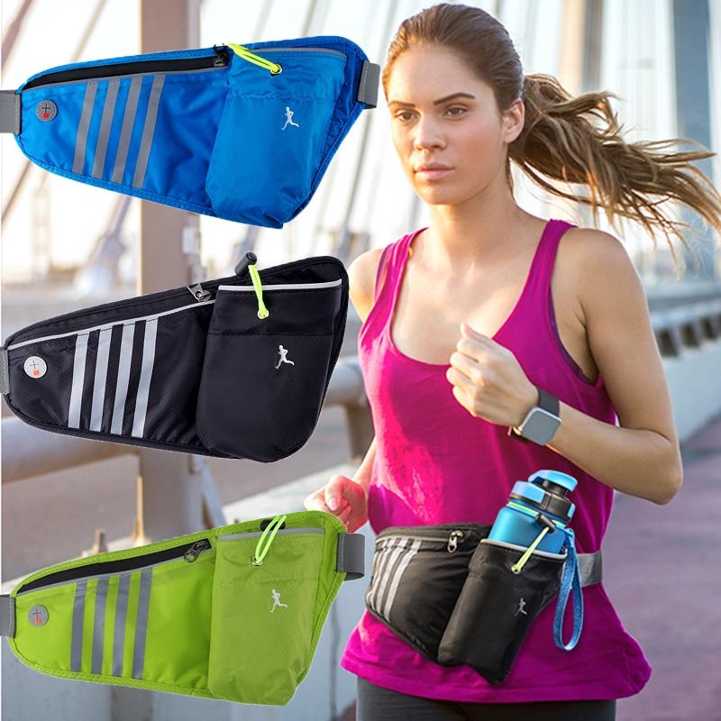 Спортивная сумка для бега, поясная сумка, карманная портативная водонепроницаемая сумка для бега и велоспорта, уличная сумка для телефона с...