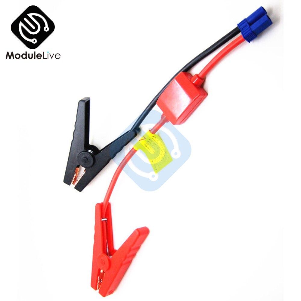 1 pc novo cabo de ligação de emergência bateria jacaré grampo para caminhões de carro saltar starter kits diy