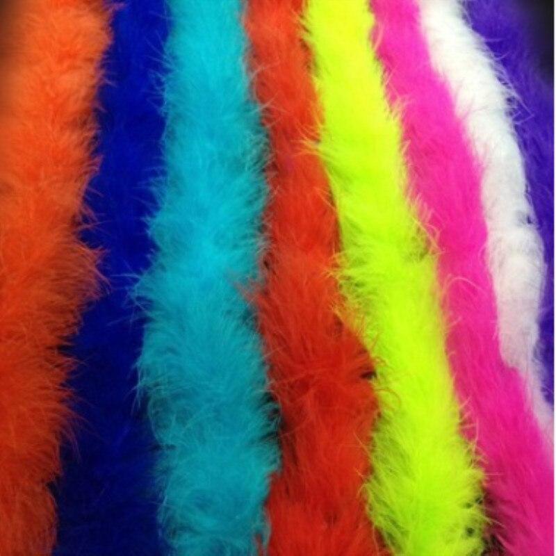 2 м/шт. пушистые белые пары Боа супер качество турецкие перья боа для ремесел партии/костюмы/декоративная шаль