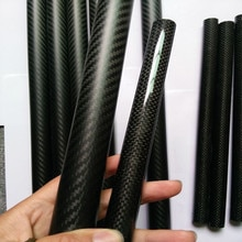 Tube en Fiber de carbone 3 K Tube 5*3*500mm 5mm pour avion RC voltige/cerf-volant