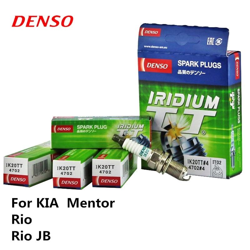 DENSO bujía de coche para KIA Mentor Rio JB iridio Platinum IK20TT