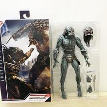 En existencia 10 pulgadas 25cm NECA blindado Assassin Predator definitivo figura de acción no enmascarada modelo de juguete