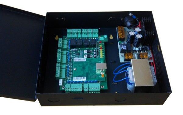 El más nuevo TCP/IP cuatro puertas Control de acceso y caja de...