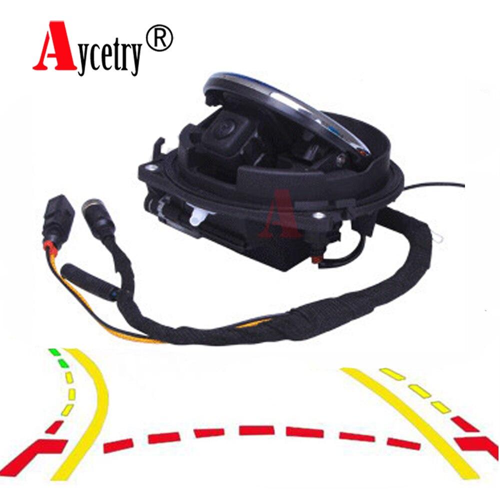 Aycetry! para Volkswagen/VW/Golf/5/6/7/MK6/MK7/Passat/CC/B6/B7/B8/POLO/emblema CCD HD coche Flip Logotipo de cámara de Vista trasera de estacionamiento