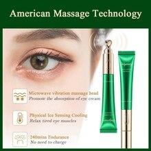 Electric Massage Eye Cream Moisturizing Anti-Wrinkles Eye Carer Remove Eye Bags Dark Circles Eye Serum New Arrival