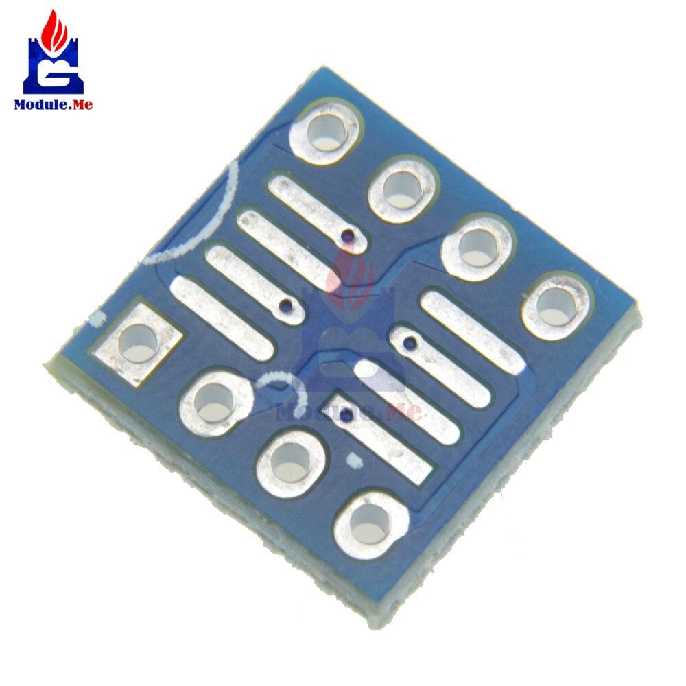 10 шт. SOP8 SO8 SO8 SOIC8 К DIP8 интерпозер плата адаптер для печатной платы пластины Новый