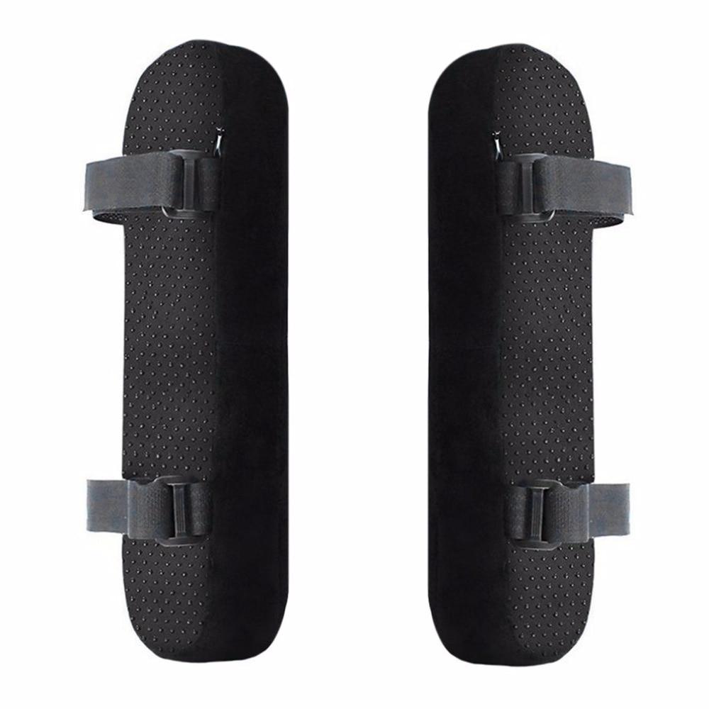 Neue 2 teile/satz Stuhl Armlehne Pads Ultra-Weiche Memory Foam Ellenbogen Kissen Anti-slip Unterstützung Fit für Home büro Stuhl für Ellenbogen Relief