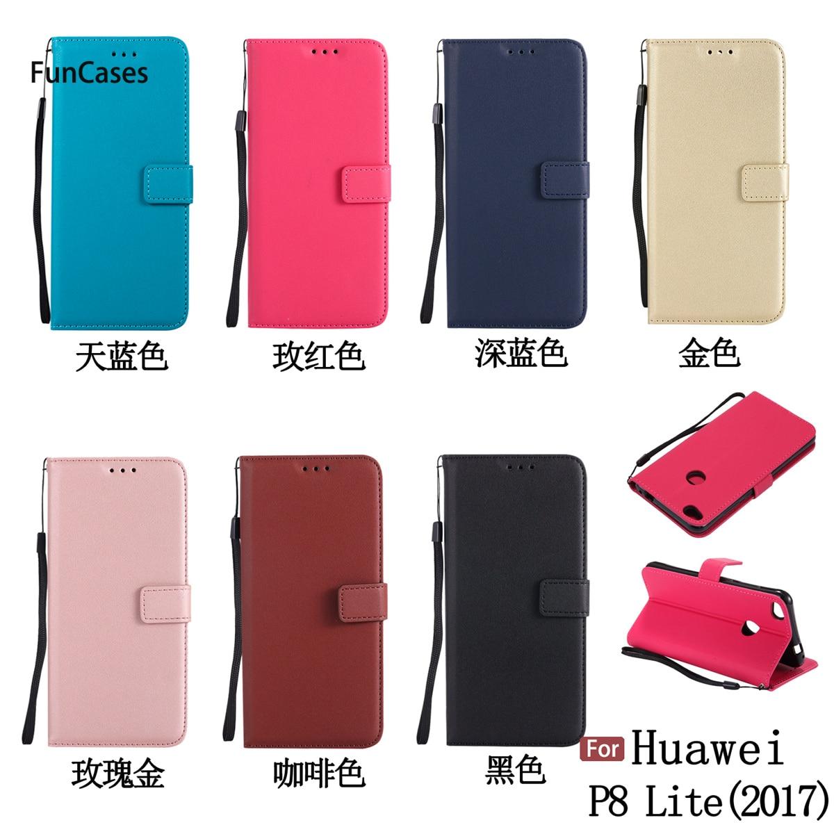 Funda de teléfono tipo billetera para Ajax Huawei P8 Lite 2017, carcasa...