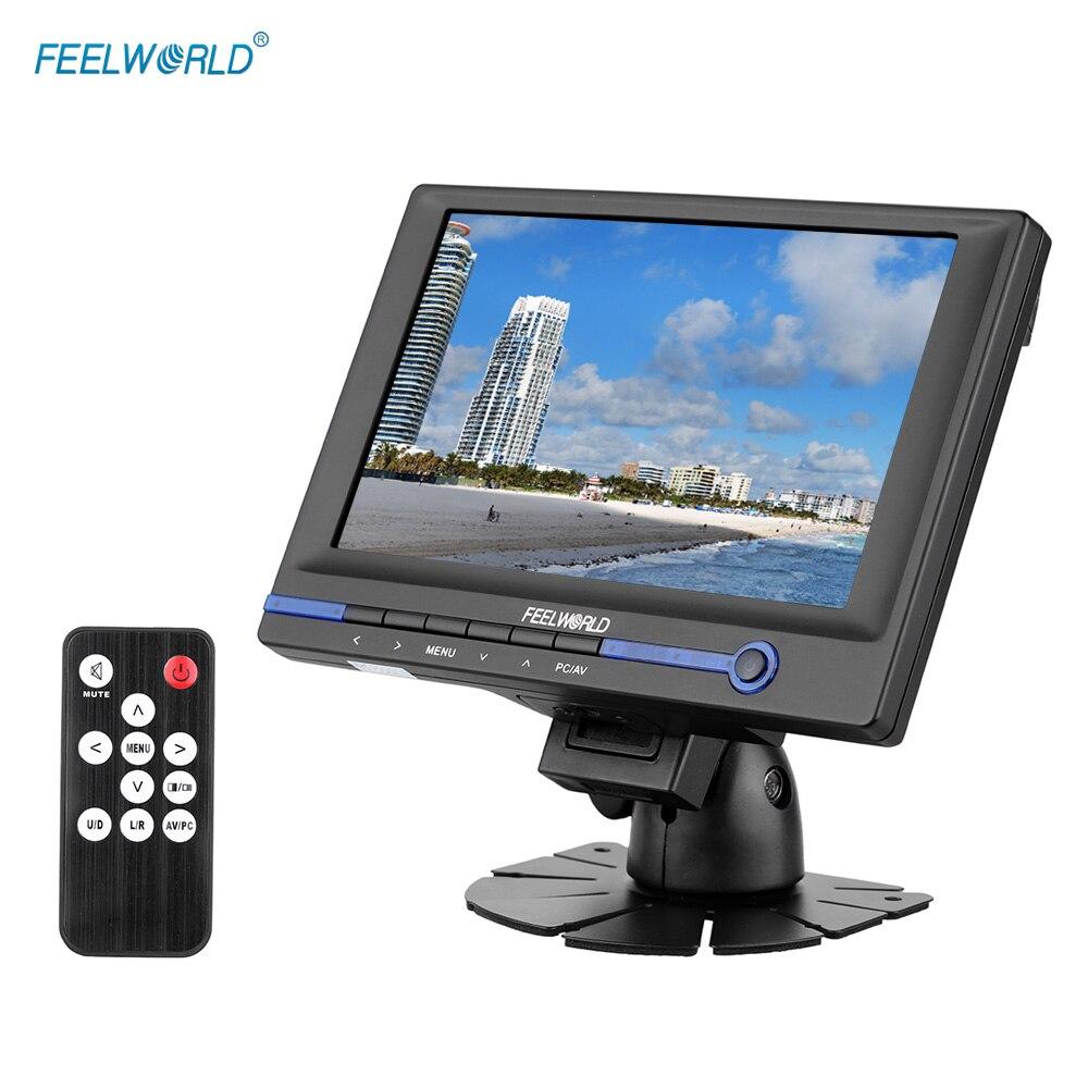 FEELWORLD FW639AH 7 &quotTFT LCD HD монитор для видео DSLR камеры с HDMI VGA AV входом автомобильным