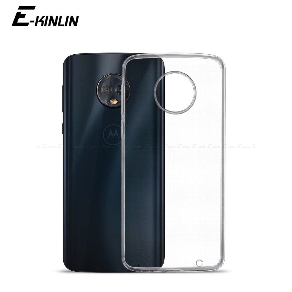 Прозрачный мягкий ТПУ чехол для Motorola Moto G8 G7 G6 G5S G5 G4 Plus One vision action Zoom Power Hyper Play силиконовый чехол для задней панели телефона