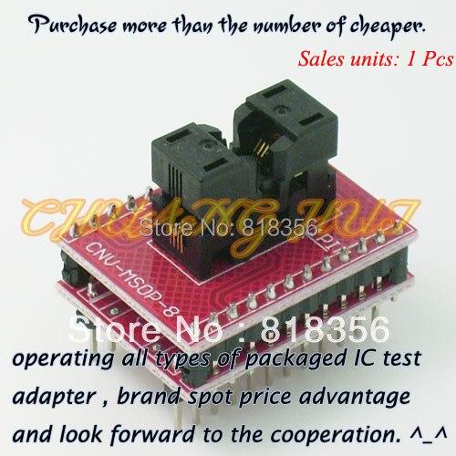 CNV-MSOP-8 adapter MSOP8 to DIP8 IC Test Socket/programmer adapter