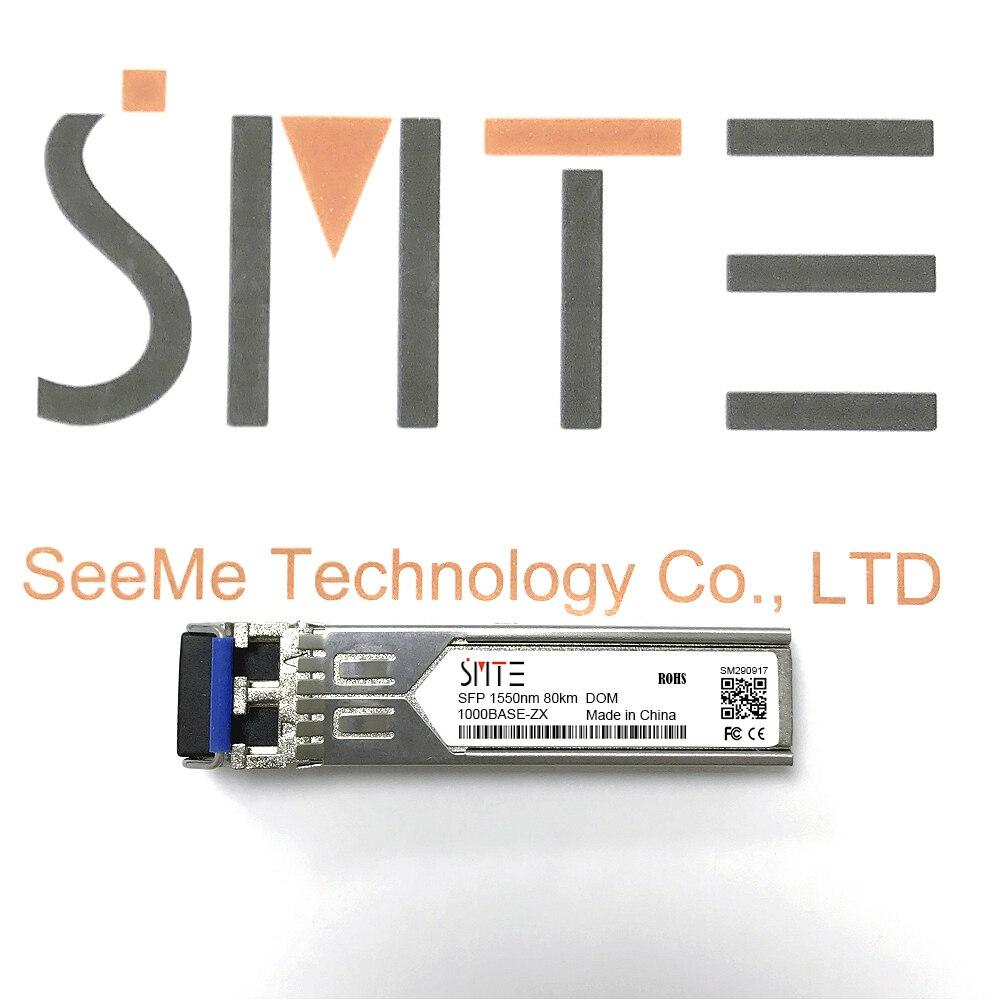 Compatible con Allied Telesis AT-SPZX80 1000BASE-ZX 1550nm 80km transmisor DDM módulo SFP