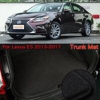 nylon fabric washable car trunk cargo liner carpet mats for lexus es 2013 2017