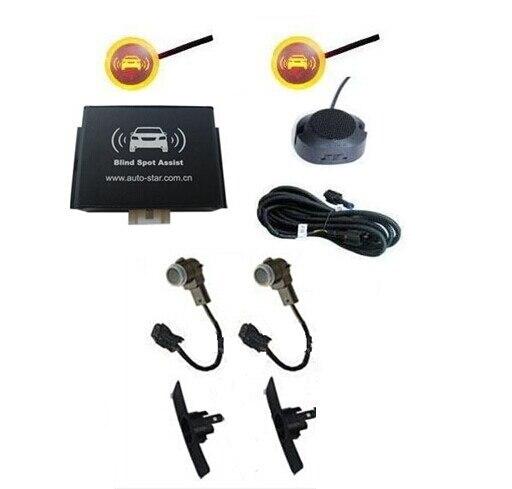 Buzzer modelo bsa carro ponto cego sistema de assistência com 2 push-out sensores pdc invertendo quente sistema de sensor de estacionamento 0261