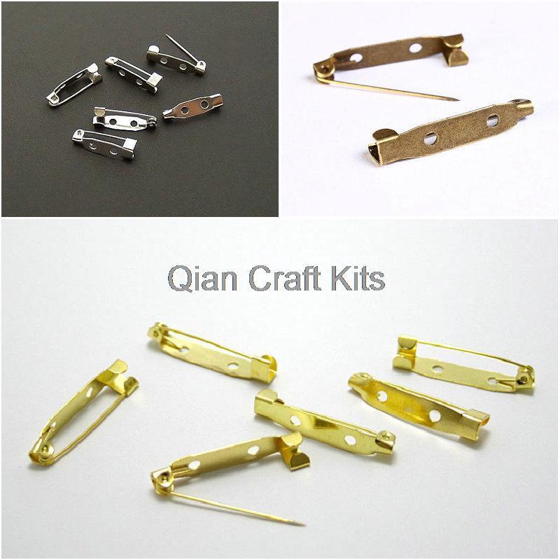 1000 peças misturadas cores golk, prata, bronze 20mm pino de segurança, broche, decorativo, suporte de fios, kniting, acessórios ferramentas